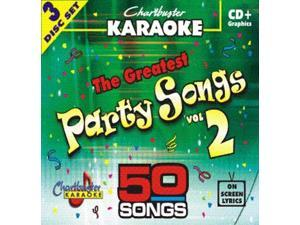 Chartbuster Karaoke CDG CB5011 The Greatest Songs Party Songs Vol. 2