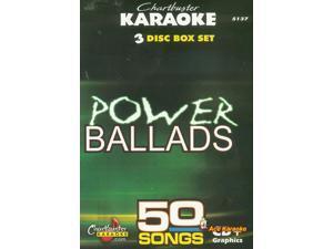 Chartbuster Karaoke CDG 3 Disc Pack CB5137 - Power Ballads