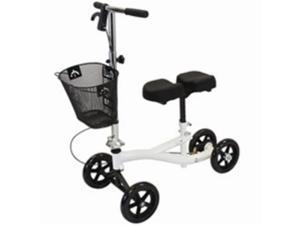 White Roscoe Mobility Steering Knee Scooter Leg Walker