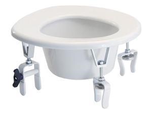 Clamp-on Handicap Medical Raised Elevated Toilet Seat