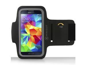Minisuit Sporty Armband with Key Holder for Samsung Galaxy Note 5 4 3 2, S6 Edge Plus
