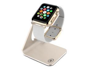 Minisuit Charging Dock Station Stand for Apple Watch 38 or 42mm (Horizontal Gold)