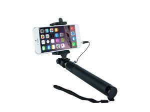 Selfie Stick, Minisuit Selfie Stick Lite 2015 Edition [Battery Free] Portable Pocket-Size Extendable Self-Portrait Monopod Stick with Adjustable Holder, Built-in Remote Shutter for iOS, Android Phones