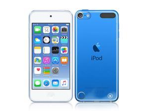 Apple iPod Touch 5 / 6 Gen - Crystal Clear Hard Back Case with Shock-Proof TPU Trim