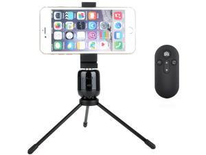Panorama Selfie 360 Tripod with Bluetooth Remote for Panoramic Photos - iPhone and Android