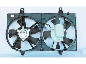 TYC 620710 Engine Cooling Fan Assembly New