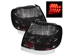 Audi A4 1996 97 98 99 2000 01 LED Tail Lights - Smoke