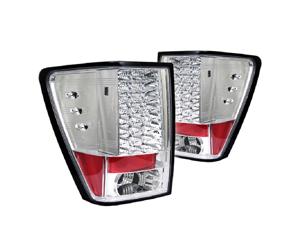 Jeep Grand Cherokee 2005-2006 LED Tail Lights- ~*~*~*~ Chrome- NEW! GUARANTEED!!