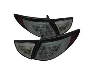 Hyundai Tucson 10-12 LED Tail Lights - Smoke