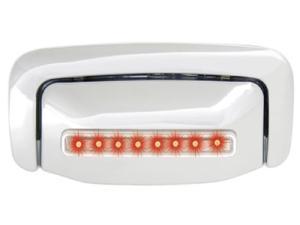 IPCW LED Door Handle CLR00CT 00-06 Chevrolet Suburban / Tahoe 00-06 GMC Suburban / Yukon / XL Red LED / Clear Lens