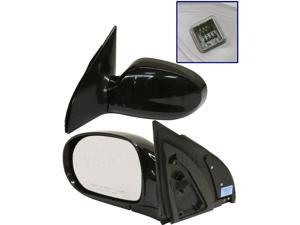 For Kia SEDONA 02-05 SIDE MIRROR LEFT DRIVER, POWER, FOLDING, LX MODEL, KOOL-VUE