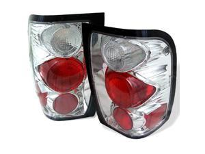 Ford Ranger 1998 99 2000 01 Altezza Tail Lights - Chrome