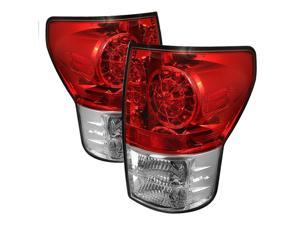 Toyota Tundra 2007 08 09 10 11 LED Tail lights - Red Clear BRAND NEW SET