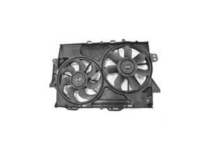 08-09 CHEVY EQUINOX/PONTIAC TORNT 3.4L(2nd Design) RADIATOR & AC CONDENSER FAN