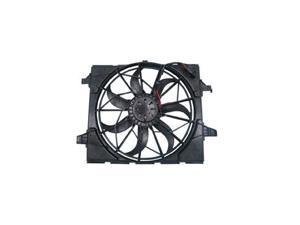 11-12 JEEP GRAND CHEROKEE 3.6/5.7L STANDARD DUAL RADIATOR AND CONDENSER FAN