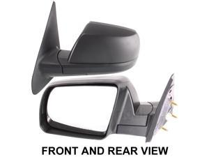 TOYOTA TUNDRA 07-09 SIDE MIRROR LEFT DRIVER, POWER, FOLDING, KOOL-VUE, NEW!
