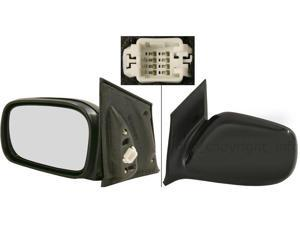 HONDA CIVIC 06-08 SIDE MIRROR LEFT DRIVER, POWERPE, EX/LX/SI MODELS, KOOL-VUE