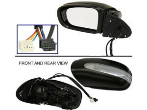 MERCEDES BENZ S-CLASS 00-02 SIDE MIRROR LEFT DRIVER, POWER FOLDING, HEATED