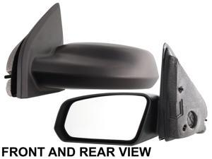 ION 03-07 SIDE MIRROR LEFT DRIVER, Manual, Sedan