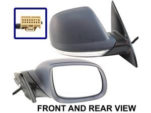TOUAREG 04-10 SIDE MIRROR RIGHT PASS, Power, Turn Signal & Puddle Lamp: VW31ER-S
