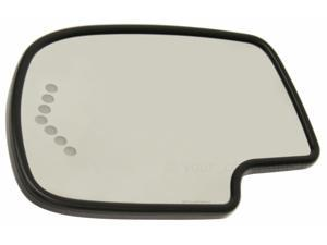 CHEVROLET SUBURBAN 00-06 SIDE MIRROR GLASS, LEFT DRIVER SIDE, HEATED, KOOL-VUE