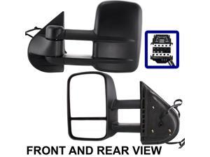 CHEVROLET SILVERADO PICKUP 07-10 SIDE MIRROR LEFT DRIVER, POWER, HEATED
