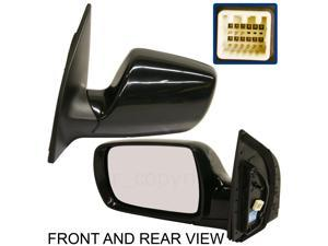 SEDONA 06-08 SIDE MIRROR LEFT DRIVER, Power, Heated, Memory, Folding