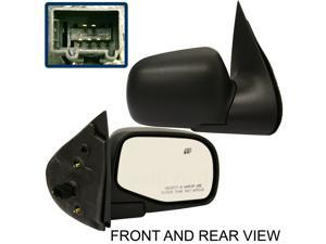 FORD EXPLORER 02-05 SIDE MIRROR RIGHT PASSENGER, POWER, HEATED, FOLDING