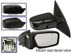 FUSION 06-11 SIDE MIRROR RIGHT PASSENGER, Power, 2 Caps (Smooth & Textured)