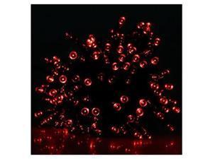 100 LED Solar Power String Fairy Waterproof Light for Birthday Wedding & Anniversary Xmas/Chrismas Halloween Graduation New Year's Eve Thanksgiving Valentine's Day - Outdoor Party