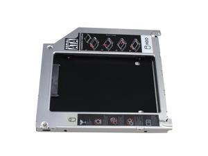 "2nd HDD Hard Drive Caddy Enclosure for Apple Replacement 2.5""/9.5mm SATA HDD or SSD fits: MacBook Pro: MB470LL/A, MB471LL/A, MB604LL/A, MC026LL/A, MB990LL/A, MB991LL/A, MC118LL/A, MB985LL/A, MB986LL/A"