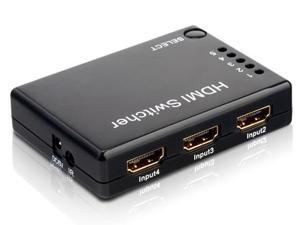 Input Port 5 Output 5x1 HDMI Mini Switch Switcher 1.3 for Dual Display