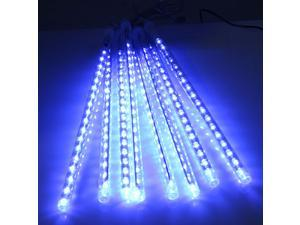30cm 8 Tube 144 LED Meteor Shower Rain Lights Waterproof String for Wedding Party Christmas Xmas Decoration Tree