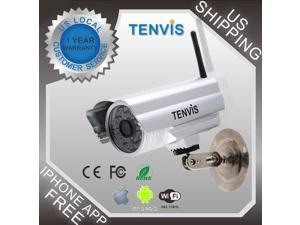 Waterproof Outdoor Wireless Wifi CCTV Color Network IP Camera IR Night Vision