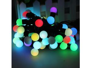 50 RGB Ball LED Color Changing with 16 Feet String Christmas Xmas Wedding Light - 5M