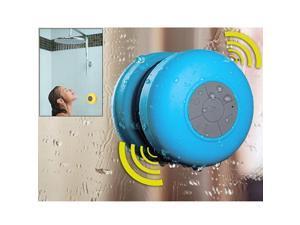 Waterproof Wireless Bluetooth Shower Speaker & Hands-Free Speakerphone for Bluetooth Mobile Device