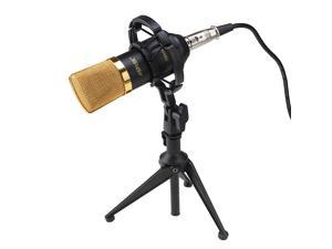 1 Condenser Sound Studio Recording Microphone Mic Dynamic +Shock Mount