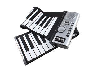 Portable Flexible Roll Up Electronic Soft Keyboard Piano 61 Keys