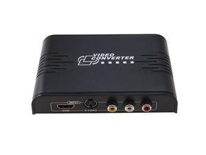 3 RCA S-Video Composite AV to HDMI Converter Adapter for HDTV - 720P