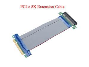 PCI Express. PCI-e 8X Slot Riser Card Extender Extension Cable Flexible Cable
