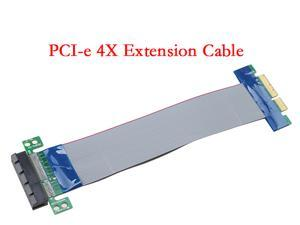 PCI Express. PCI-e 4X Slot Riser Card Extender Extension Cable Flexible Cable