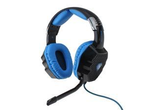 A70 USB Gaming Headset 7.1 Sound Effect Glittering Light 6 Color W/Mic Black