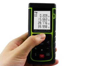 LCD Digital Tool Handheld Digital Laser Point Distance Meter Range Finder Diastimeter Area Estimator 40M