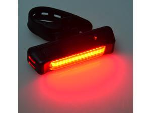 LED Bicycle Cycling Light Front Rear Light Torch USB Rechargeable 6 Modes