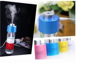 USB Portable Mini Water Bottle Cap Humidifier DC 5V Office Air Diffuser Mist Maker