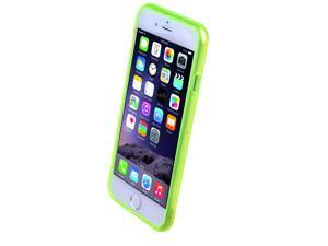 """Ultra Thin Colorful Transparent TPU Case Cover for iPhone 6 4.7"""" Green"""