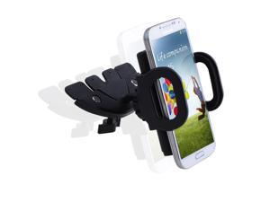 CD Slot 360°rotating Car Mount Holder For Smart Phone iPhone 6 Plus Galaxy S5 Note 4/3 GPS