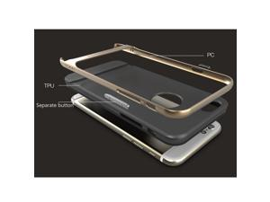 Rock TPU PC Shockproof Environmental Protection Back Case Cover for iPhone 6 4.7 inch Screen