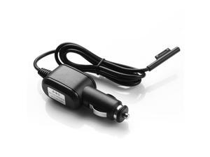 Compatible Car Charger Power Adapter Replacement For Microsoft Surface Pro 3 Tablet 12V 2.58A Black