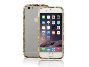 "Luxury Crystal Rhinestone Bling Aluminum Metal Bumper for iPhone 6 4.7"" Jade green"